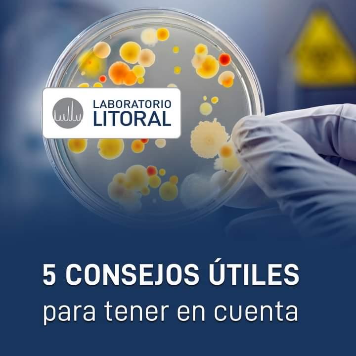 5 Consejos útiles de Laboratorio Litoral