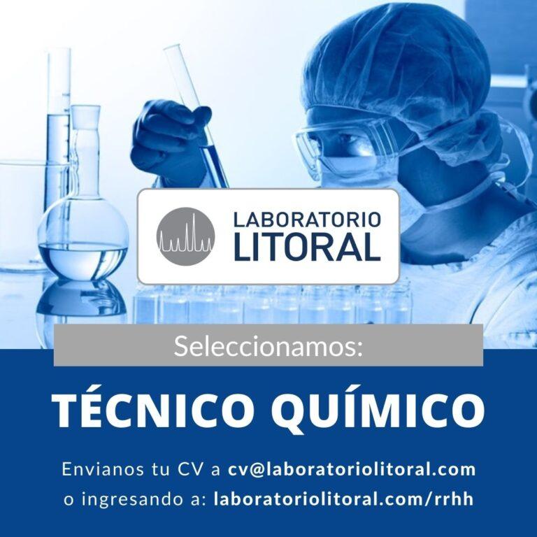 Seleccionamos Técnico Químico